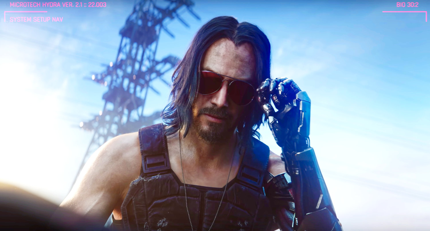 Who is Keanu Reeves playing in Cyberpunk 2077?