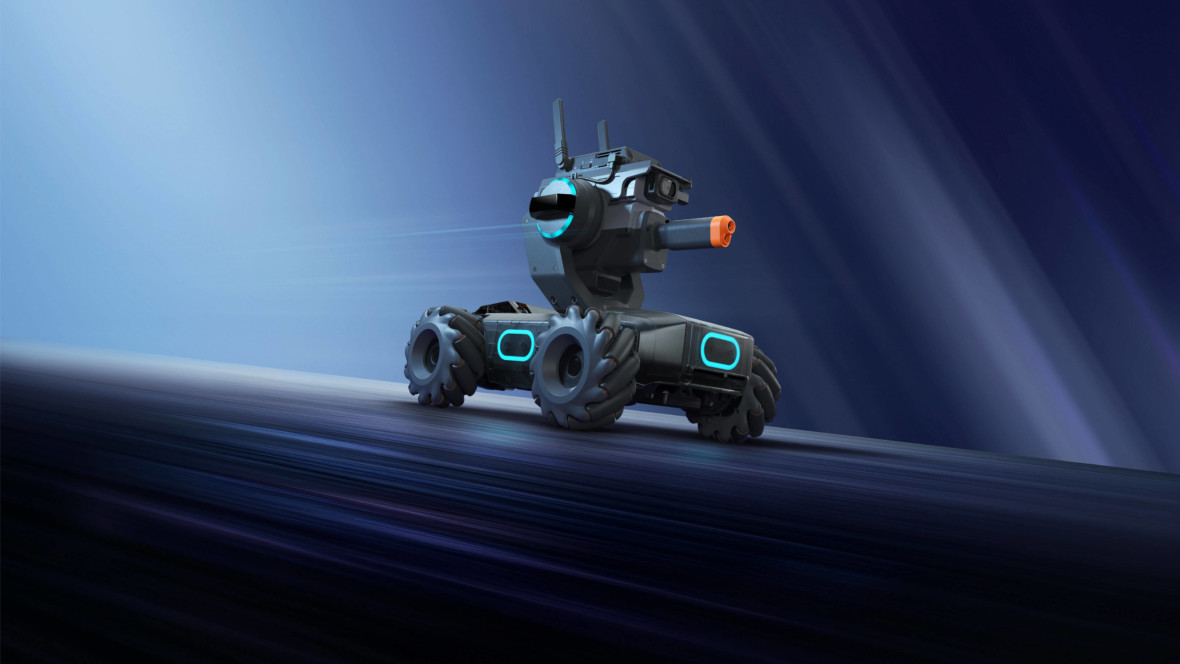 DJI w 2020 r. nas zaskoczy. Firma pracuje nad nowym pojazdem i miniaturowym gimbalem
