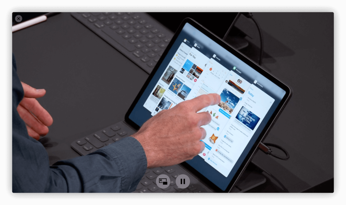 iPadOS i Zaloguj z Apple to nowości na miarę iPhone'a czy MacBooka Air