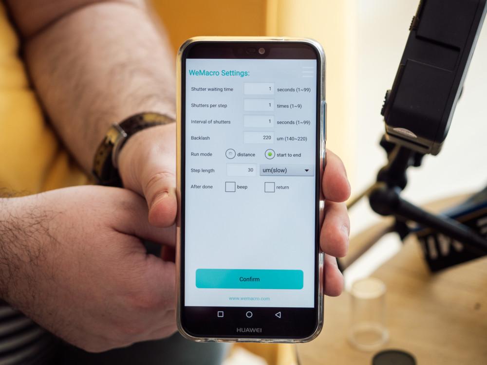 Stakernica jest sterowana z poziomu smartfona. Fot. Krzysztof Basel