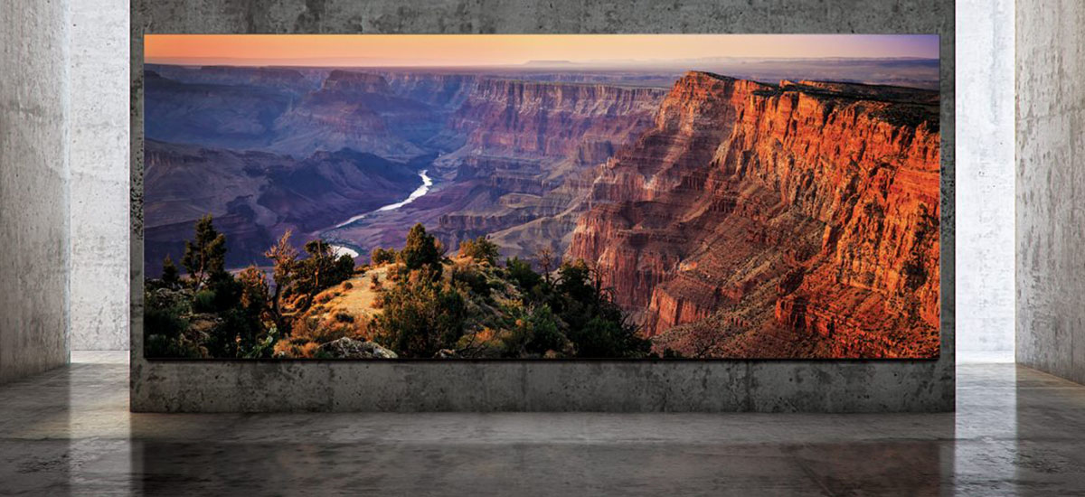 The Micro LED 8K TV goes to the market. Samsung The Wall Luxury is so expensive that there is no official price list