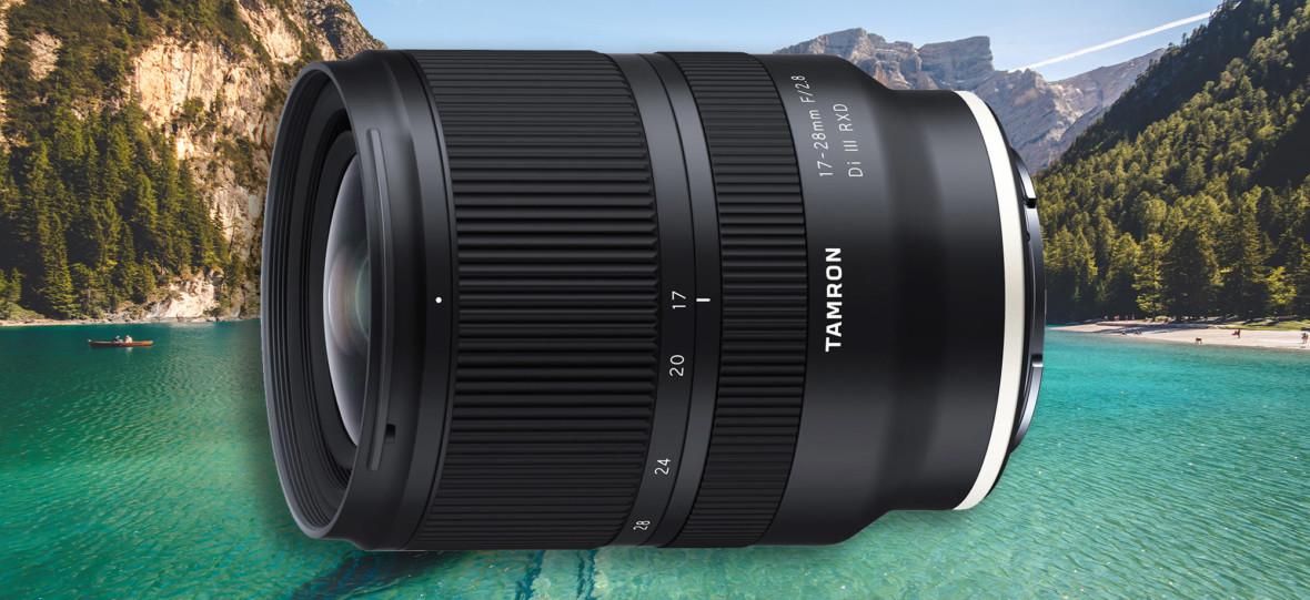 Tamron 17-28 mm f/2.8 Di III RXD ma być świetny optycznie, a kosztuje ponad 2x mniej, niż konkurencja