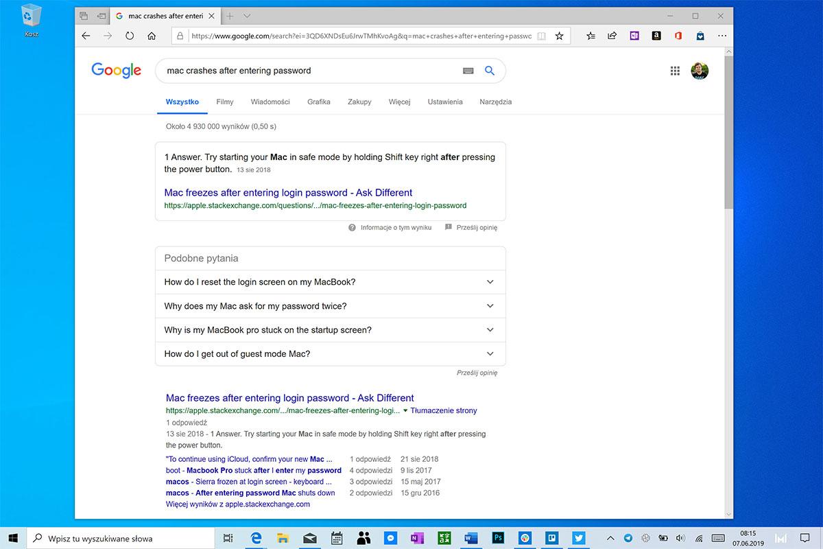 wyszukiwarka google grupowanie