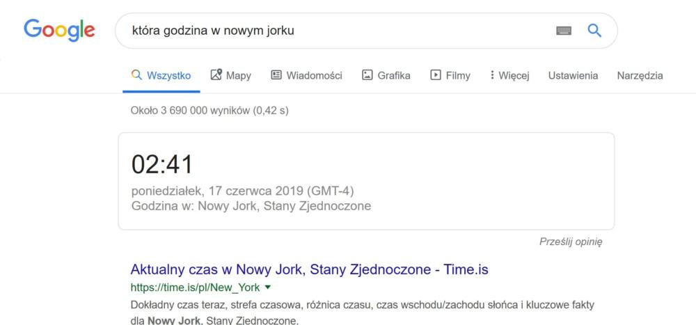wyszukiwarka google kradzież danych