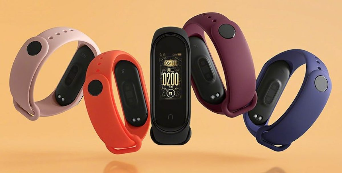 This is Xiaomi Mi Band 4