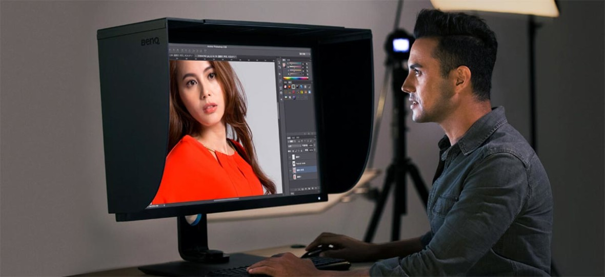 Nowy BenQ SW2700C to 27-calowy monitor, który mogą pokochać fotografowie
