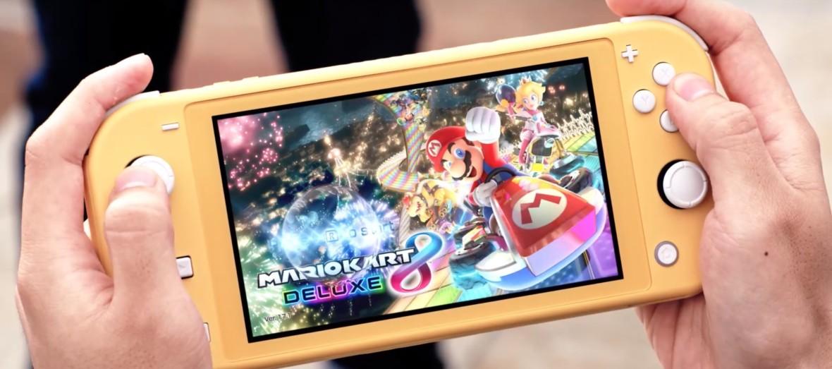 Nintendo Switch Lite już oficjalnie! Tak wygląda mniejsza, znacznie tańsza wersja konsoli