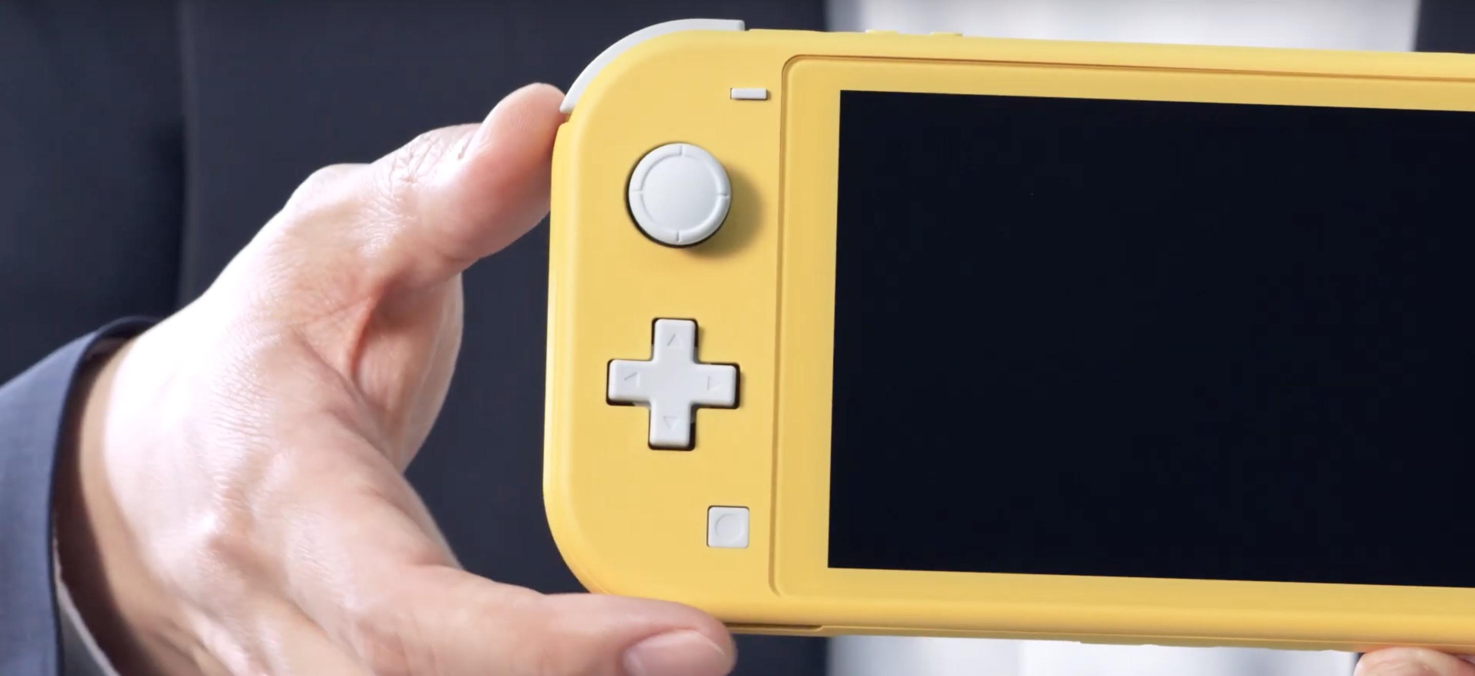 Nintendo Switch Lite - premiera, cena i specyfikacja