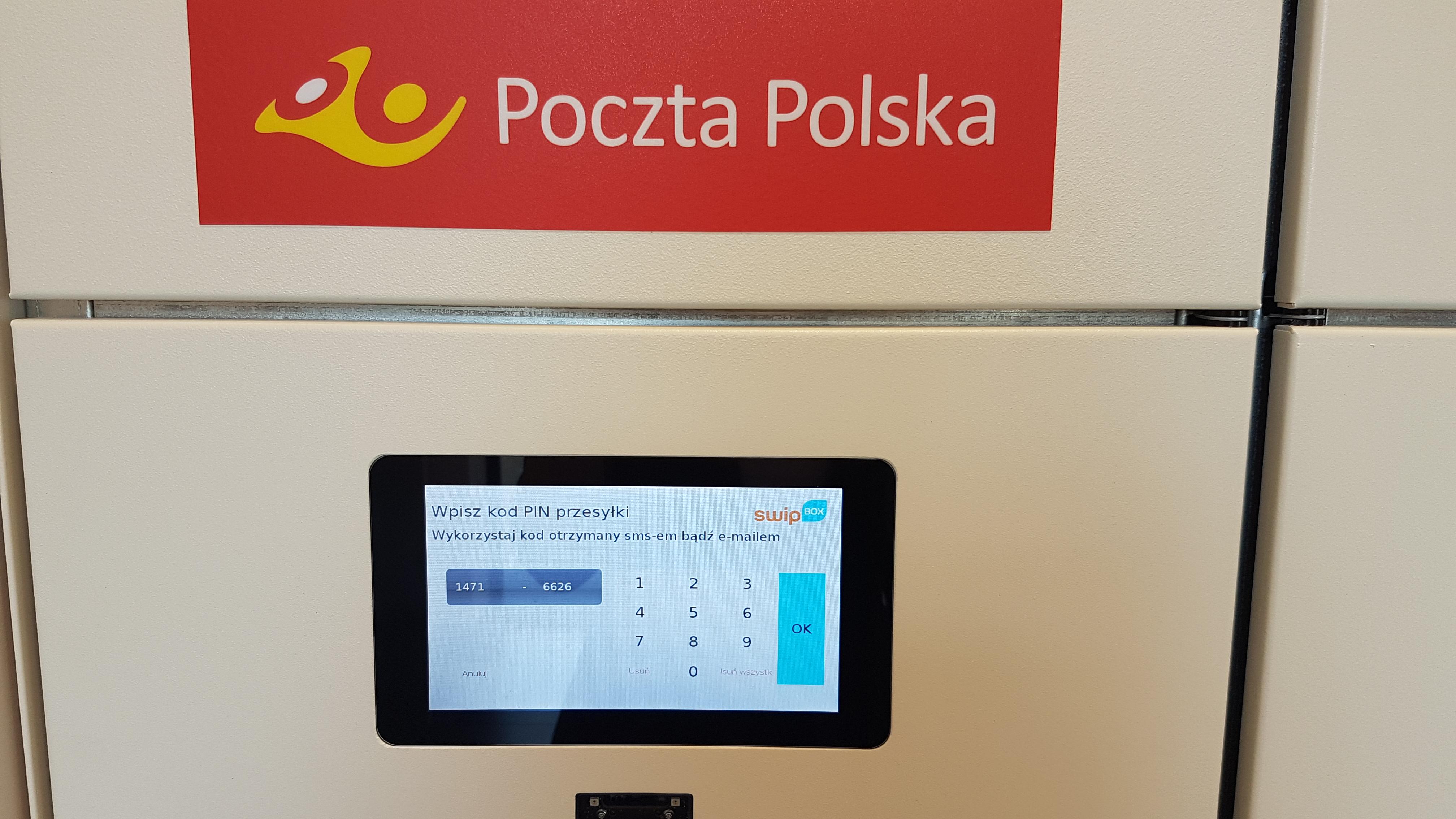 Poczta Polska Paczkomaty