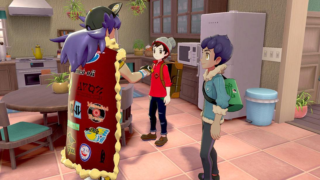 Pokemon Sword/Shield rozmowa i dialogi