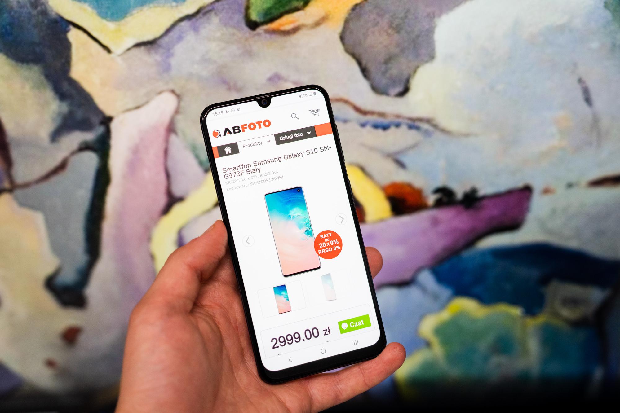 Jaki smartfon wybrać? Samsung Galaxy A50