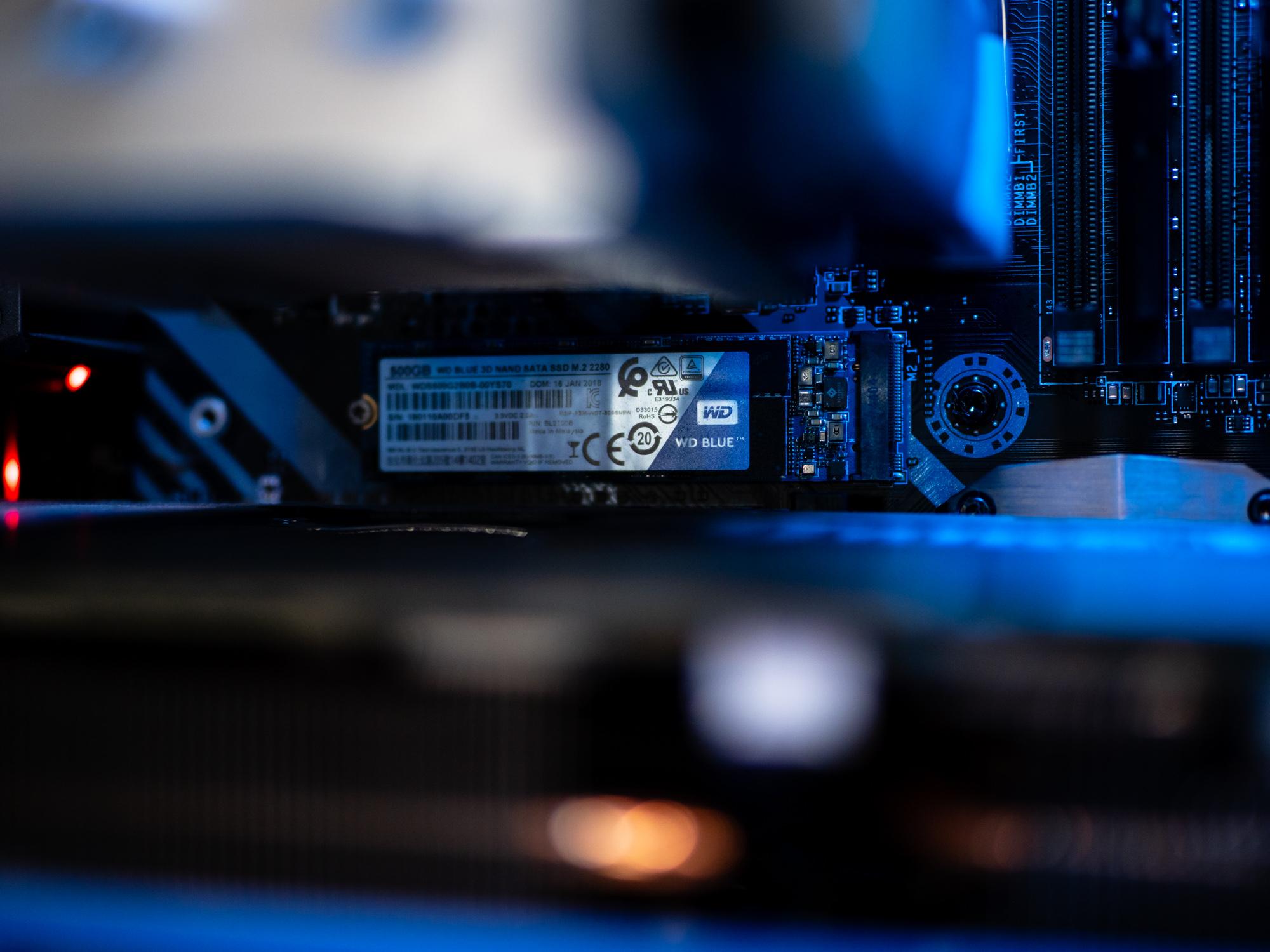 Jaki SSD wybrać - WD Blue