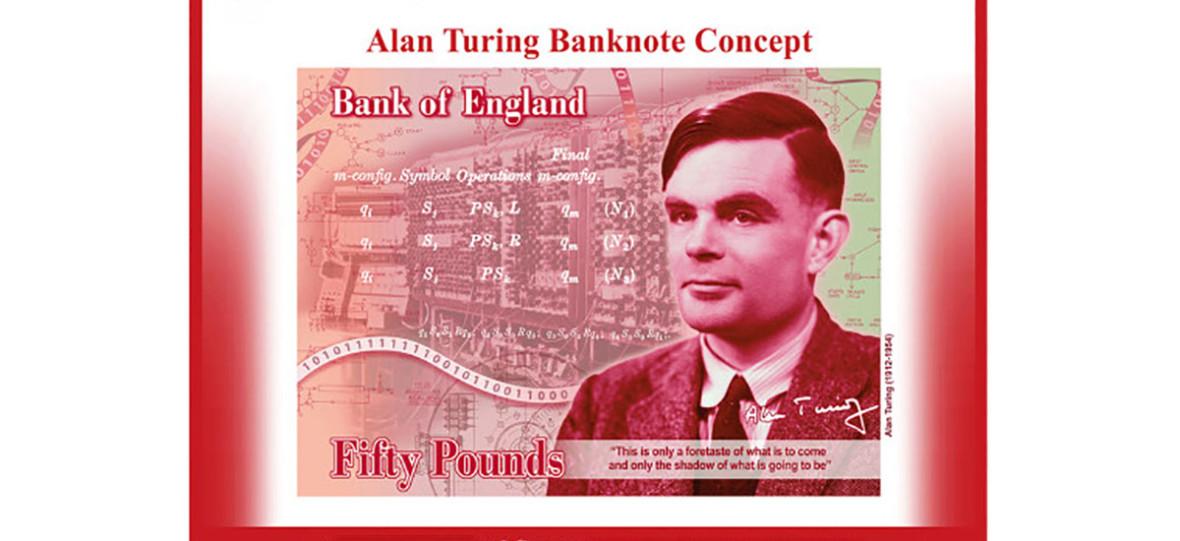 Alan Turing pojawi się na banknocie kraju, który przyczynił się do jego samobójstwa