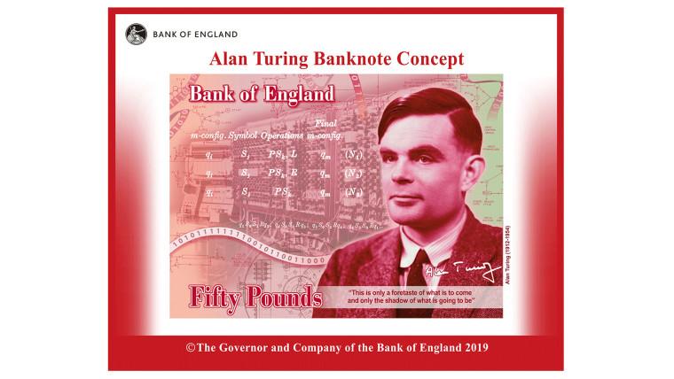 alan turing banknot