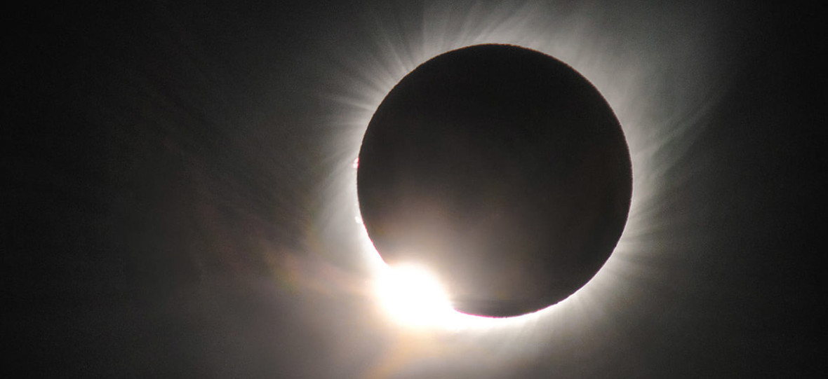 Polak przez dwa lata przygotowywał się, by sfotografować całkowite zaćmienie Słońca w Andach