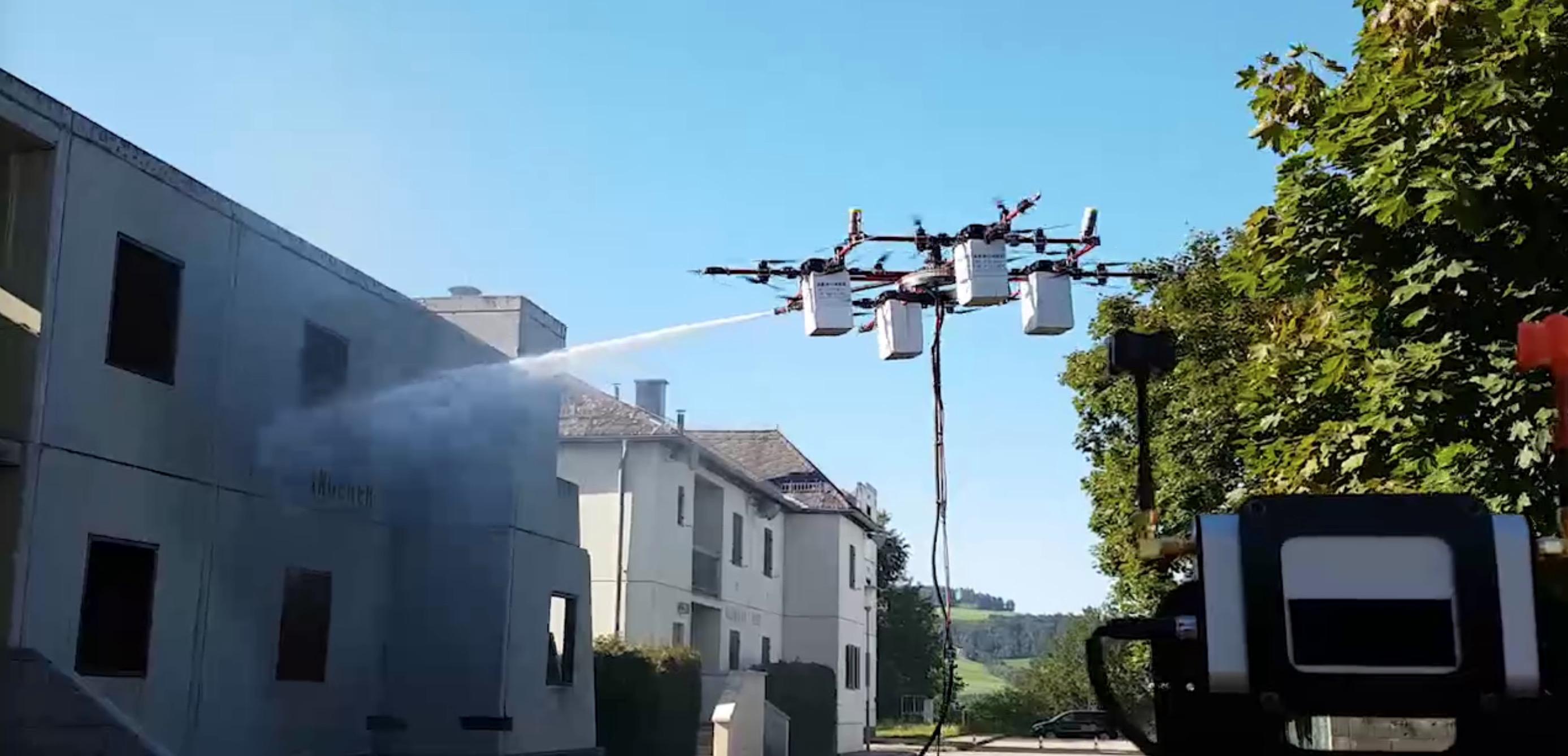 drony straż pożarna