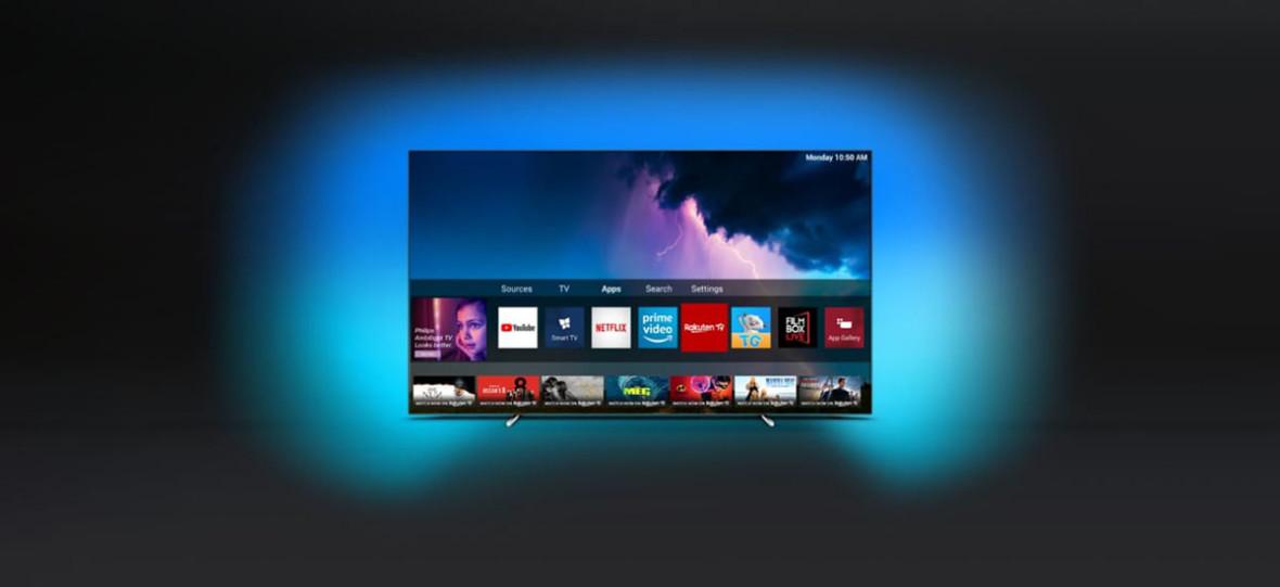 OLED z Ambilightem, ale bez znanej platformy smart TV. Czyli ciekawy eksperyment Philipsa