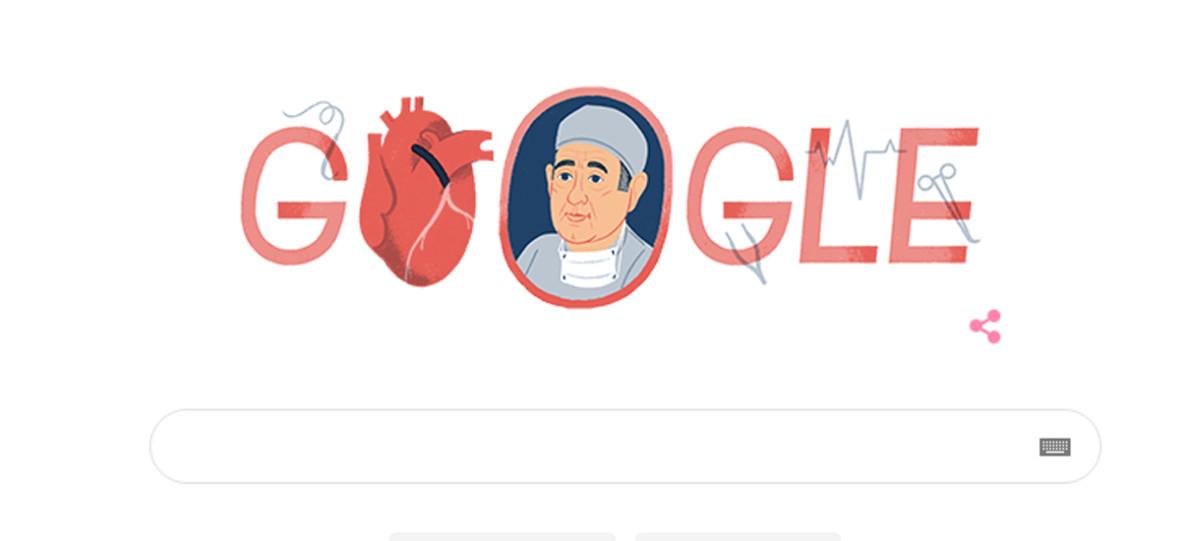 Rene Favaloro zrewolucjonizował kardiochirurgię. Dzisiejszy Google Doodle o tym nam przypomina