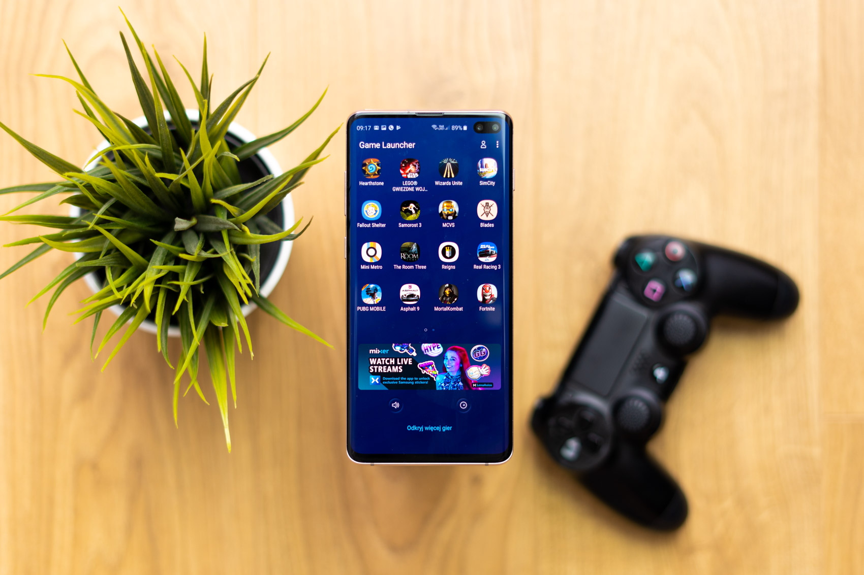 How many games will the Samsung Galaxy S10 + Performance Edition fit? We check in # 1TBChallenge