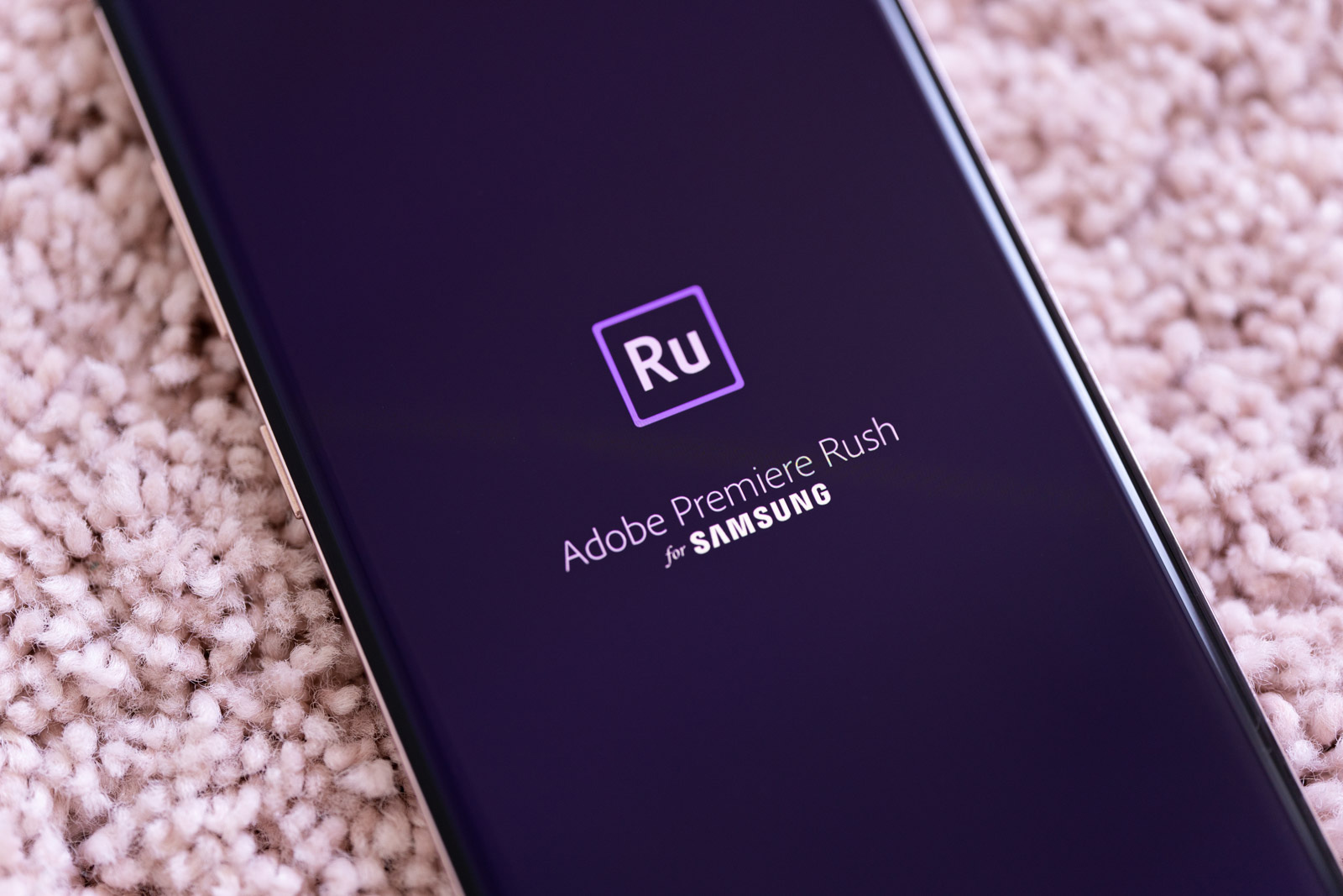 samsung galaxy s10+ performance edition adobe premiere rush