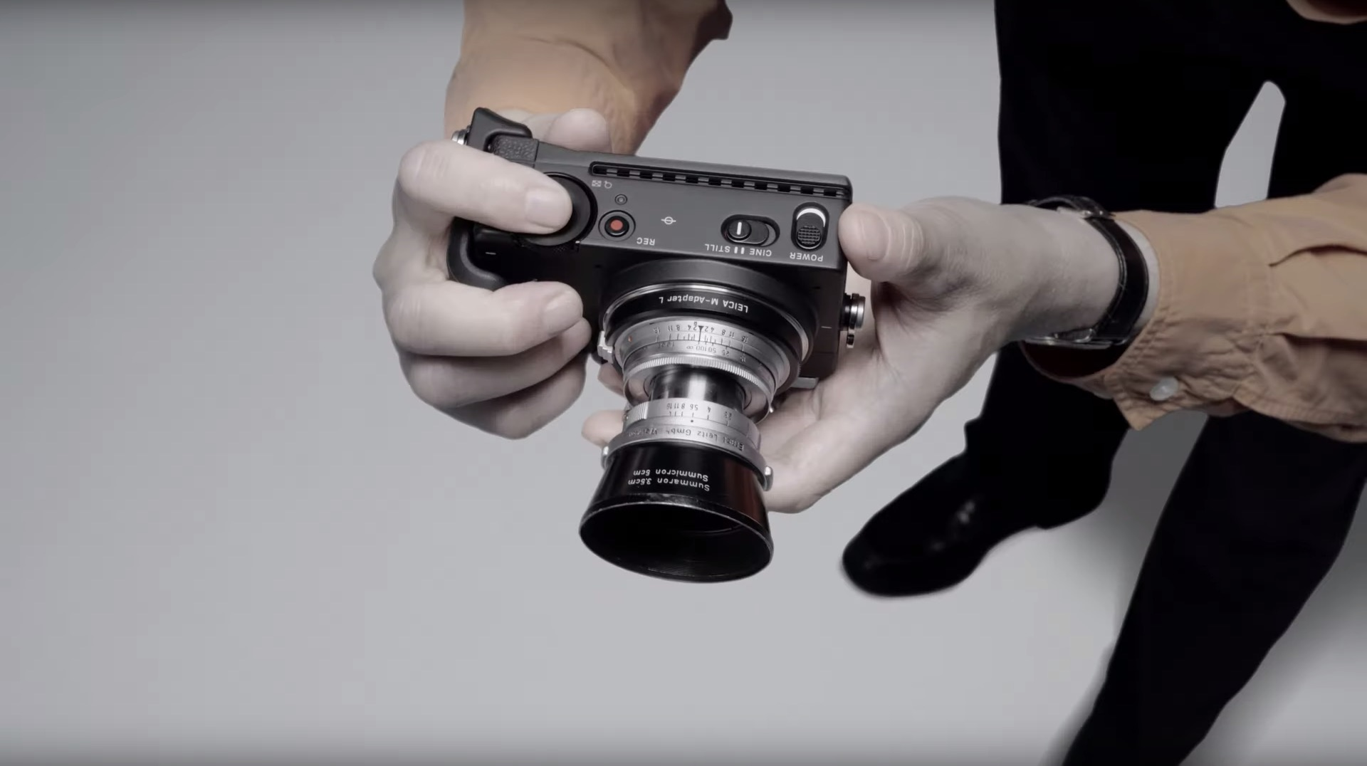 Sigma fp is a new, ultra compact full frame. There was no such camera yet
