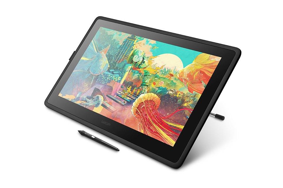 Nowy tablet graficzny Wacoma ma 21,5 cala i nie zabija ceną. Oto Cintiq 22