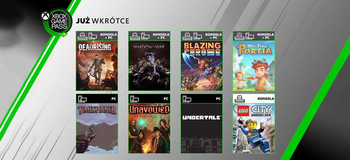 Śródziemie: Cień Wojny na Xboksa i PC. A także siedem innych nowych gier w Xbox Game Pass