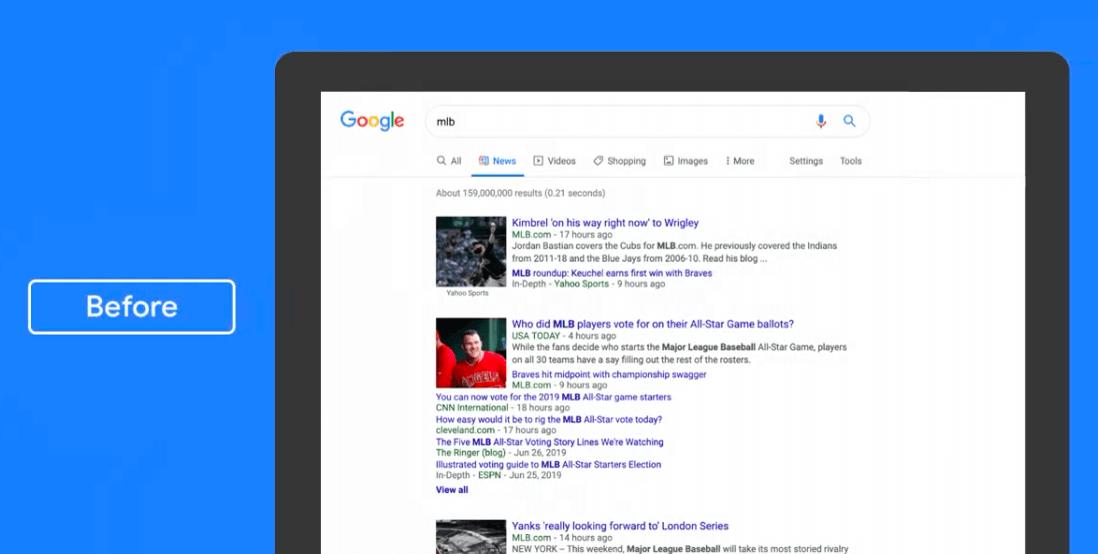 Wyszukiwarka Google zmieni sposób wyświetlania Wiadomości. Tak wygląda nowy