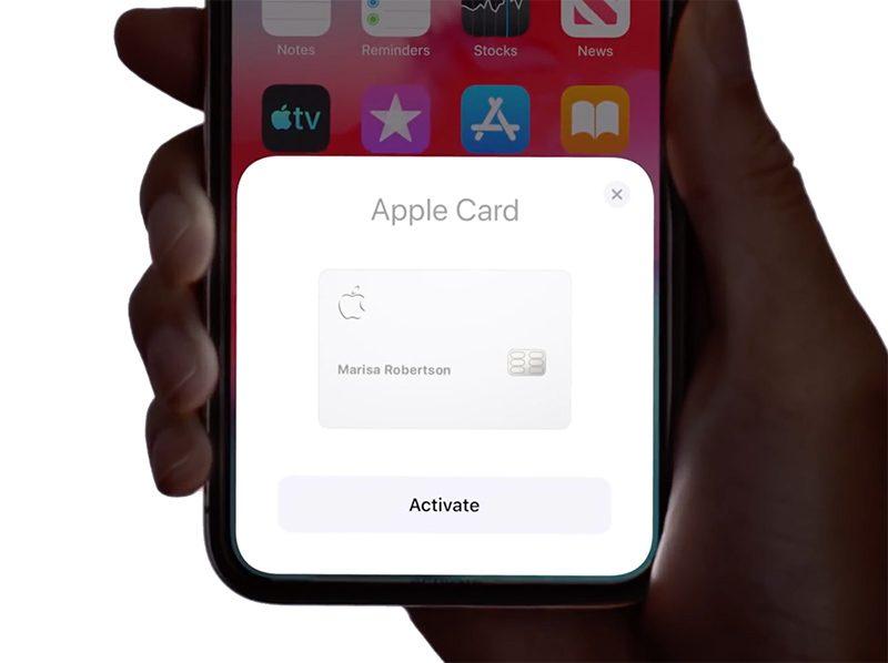 Apple Card aktywacja nowej karty