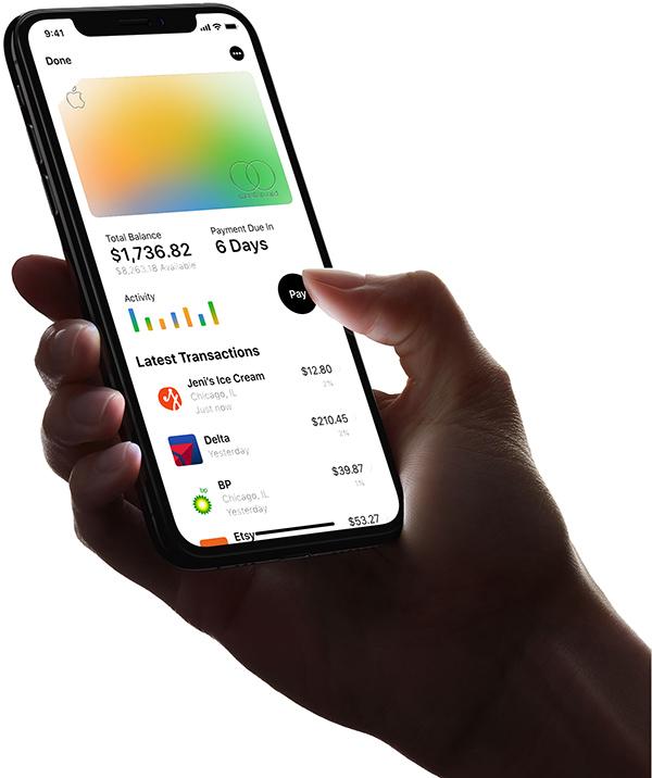Apple Card dodawanie nowej karty