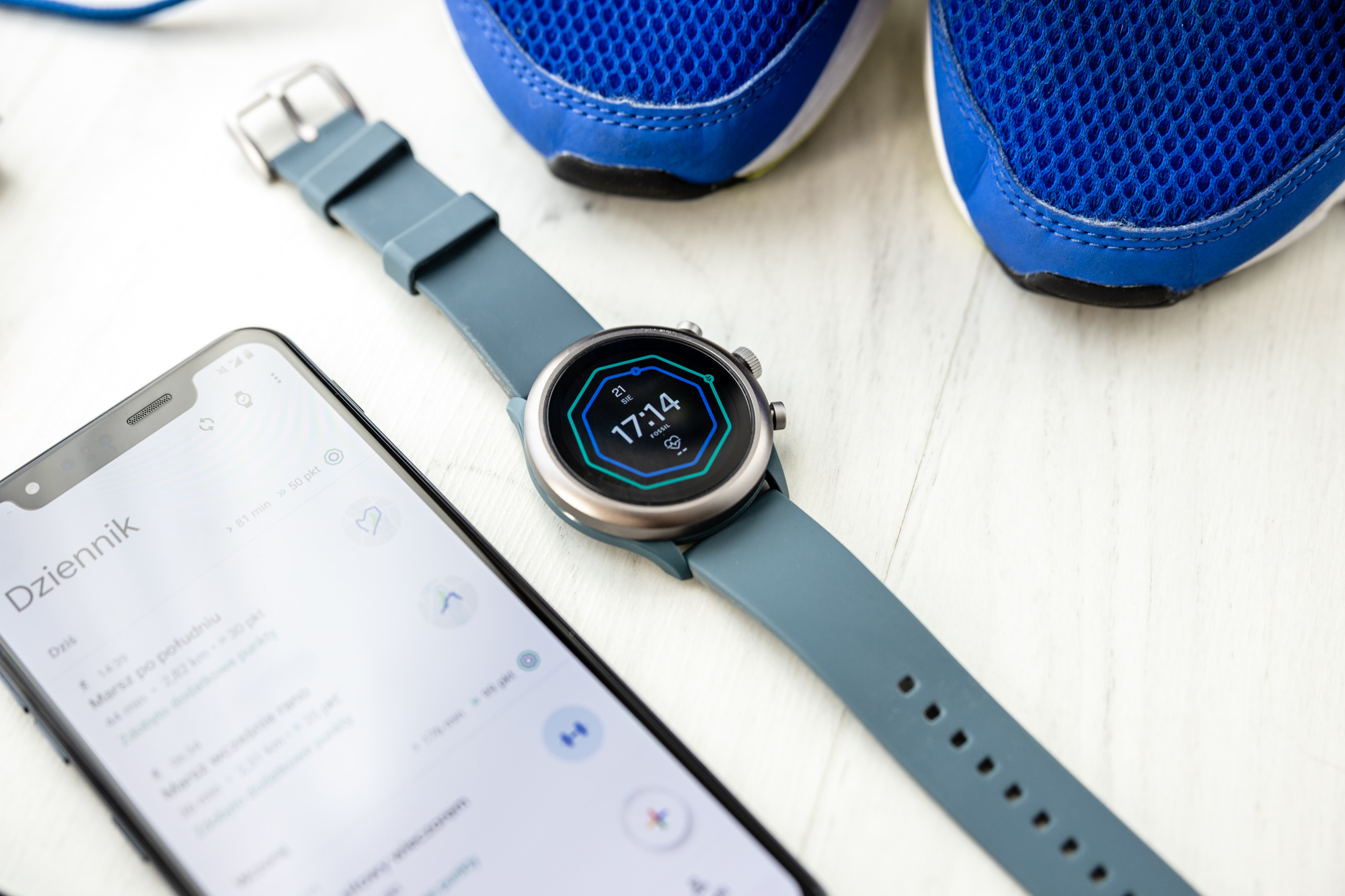 Fossil Sport opinie