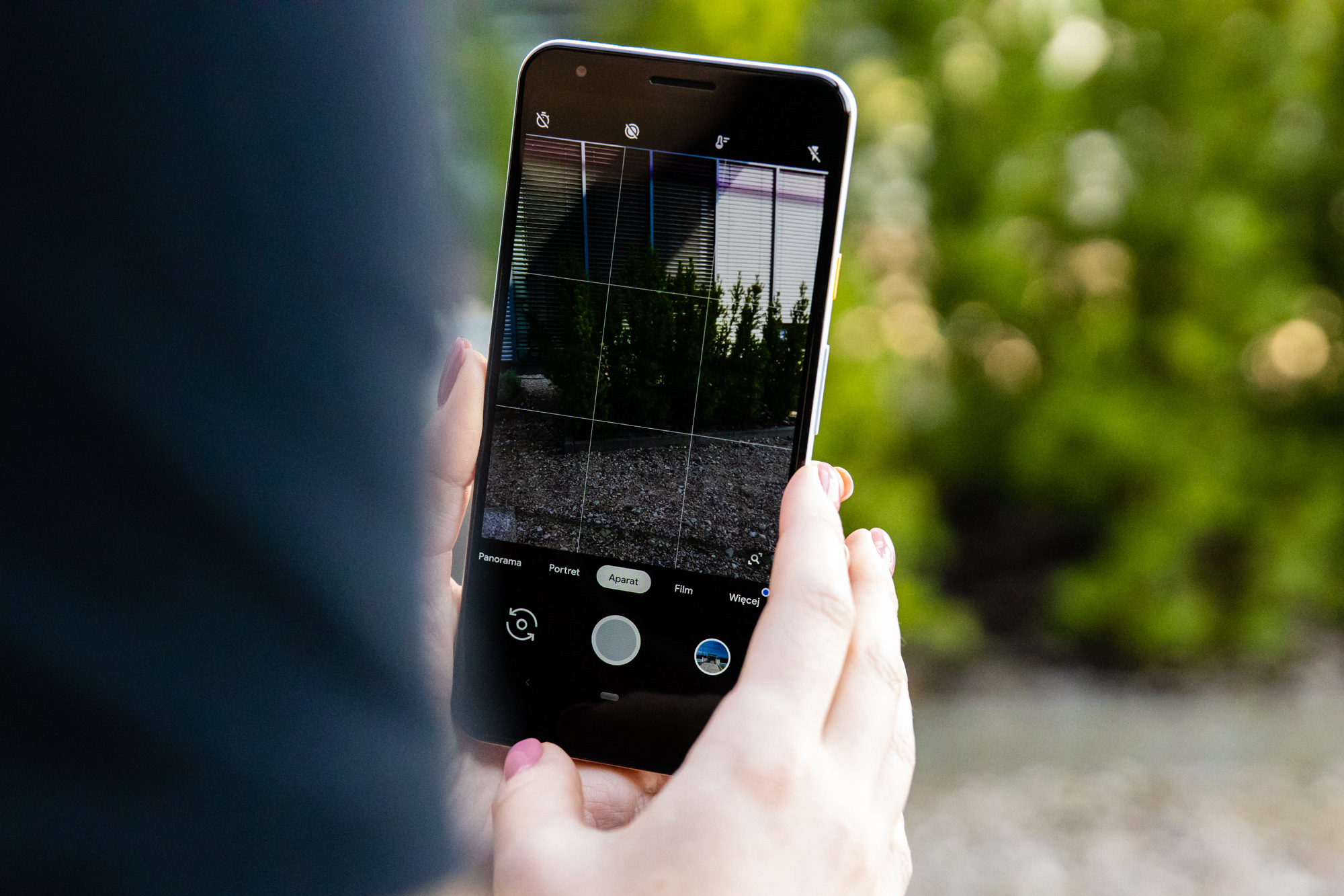 Google Pixel 3a XL aparat