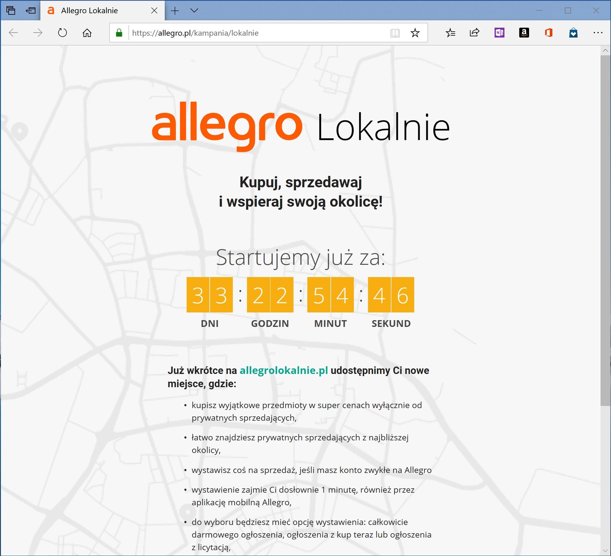 Nadchodzi Allegro Lokalnie Ogloszenia Umiescicie Bez Zadnych Oplat