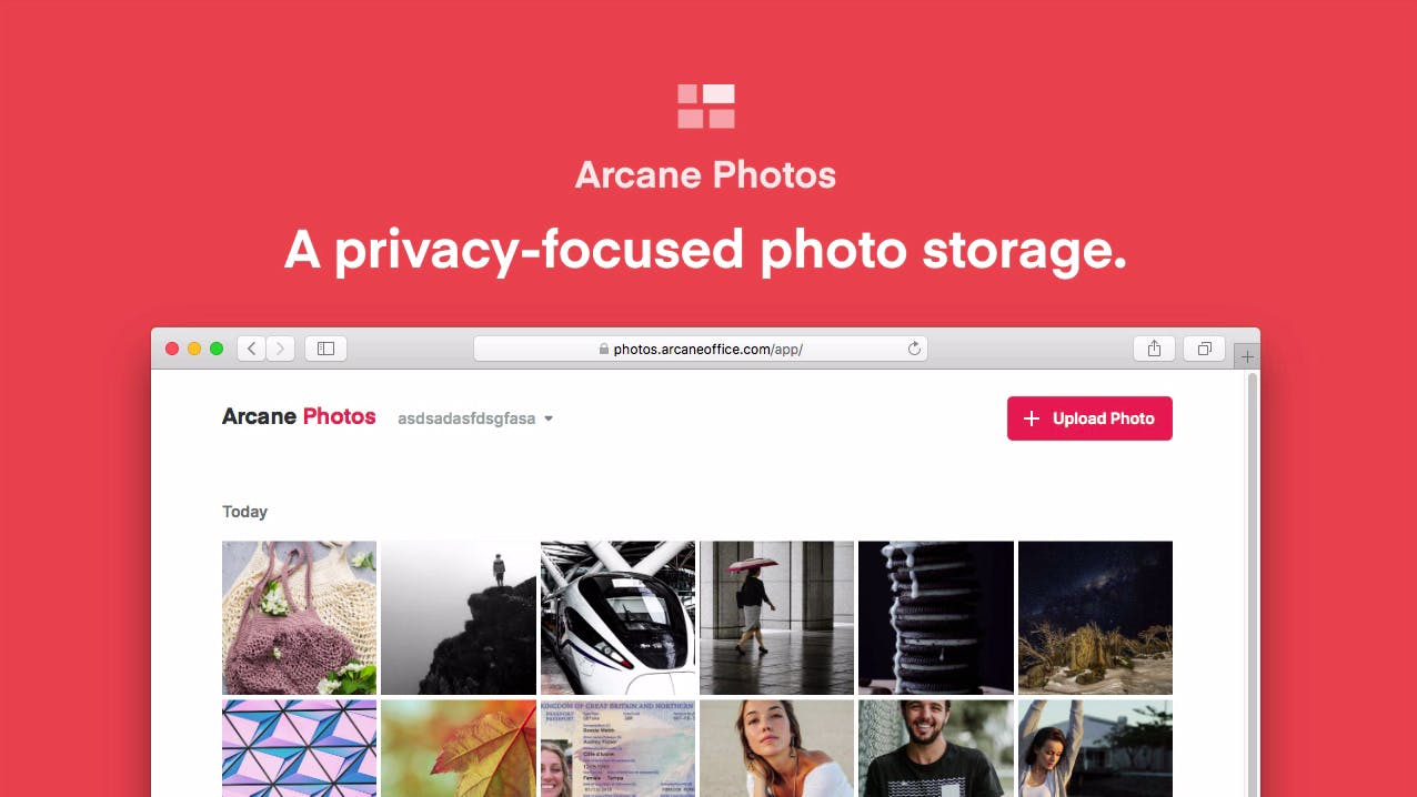 arcane photos alternatywa zdjęć google