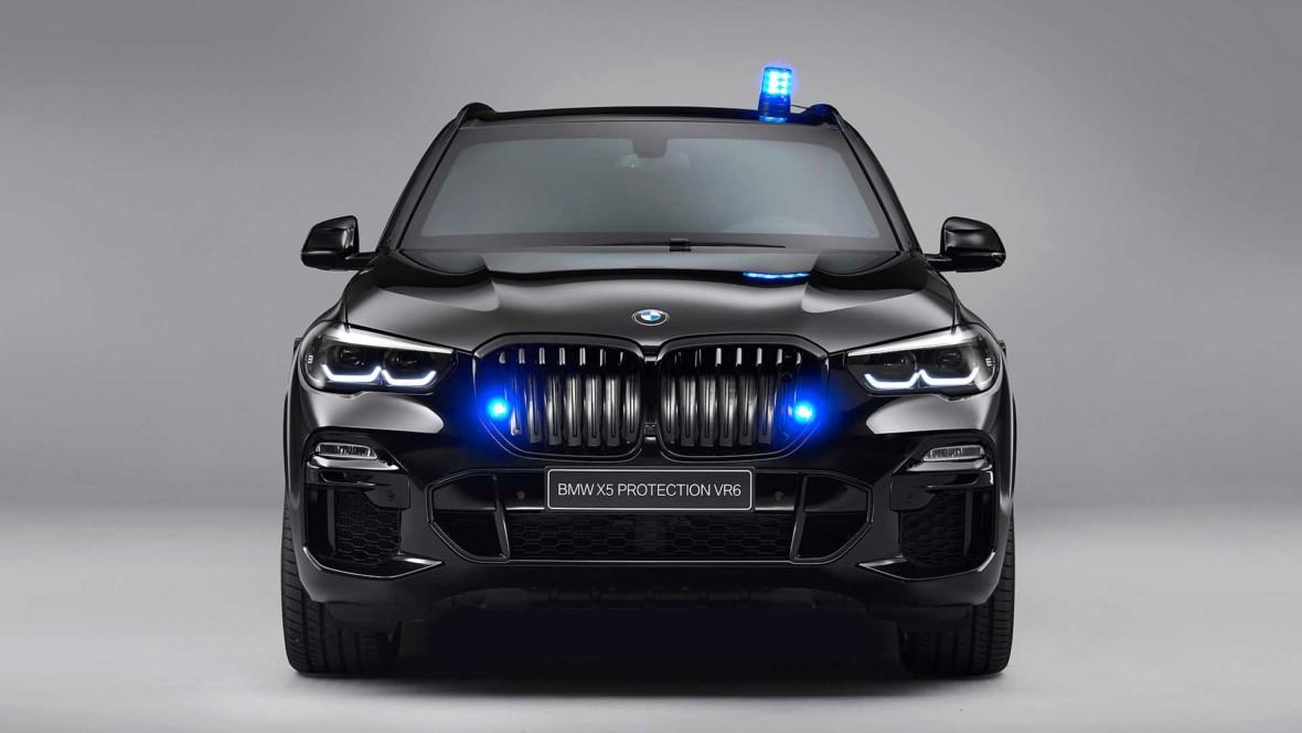 Nowe opancerzone BMW X5 powstało, by wytrzymać atak z karabinu i z… drona