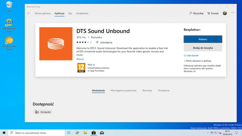 You can now test DTS: X sound in Windows  Almost
