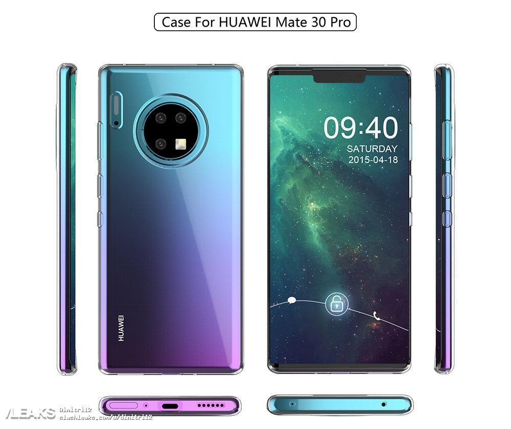 Huawei Mate 30 Pro przecieki