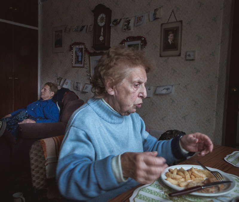 "Fot. Jason Parnell-Brookes, ""Alma and Alzheimer's"", 1. miejsce Open Award (zdjęcie pojedyncze)"