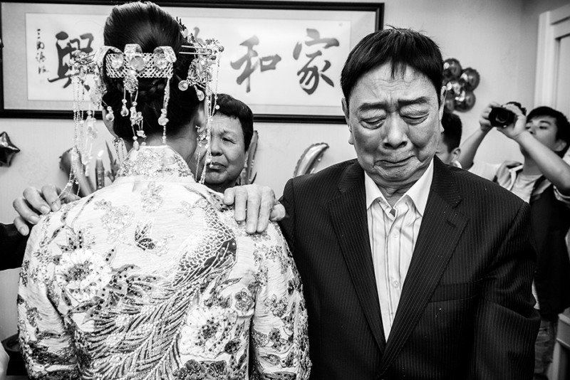 """Fot. Ziheng Wang """"A Grandfather's Emotions"""", Silver Prize (zdjęcia pojedyncze)"""