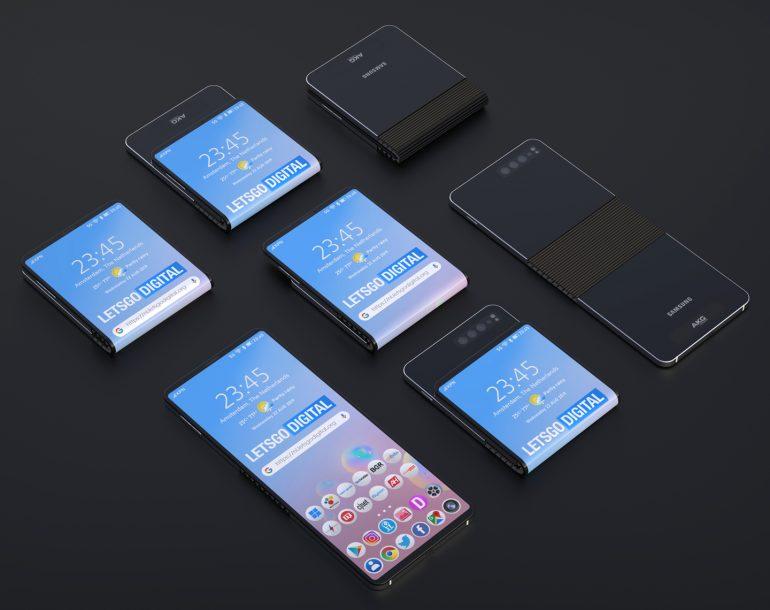 Nowy pomysł na Galaxy Folda. Samsung patentuje smartfona składanego w dwie strony