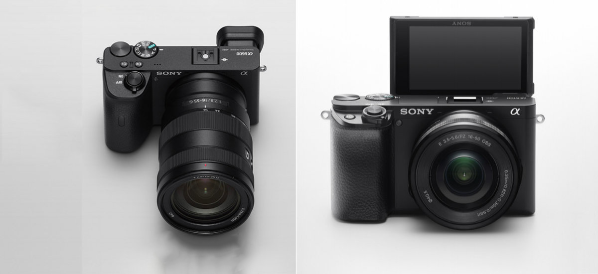 Here is the basic Sony A6100 and flagship A6600. Sony with a strong offensive in the APS-C segment