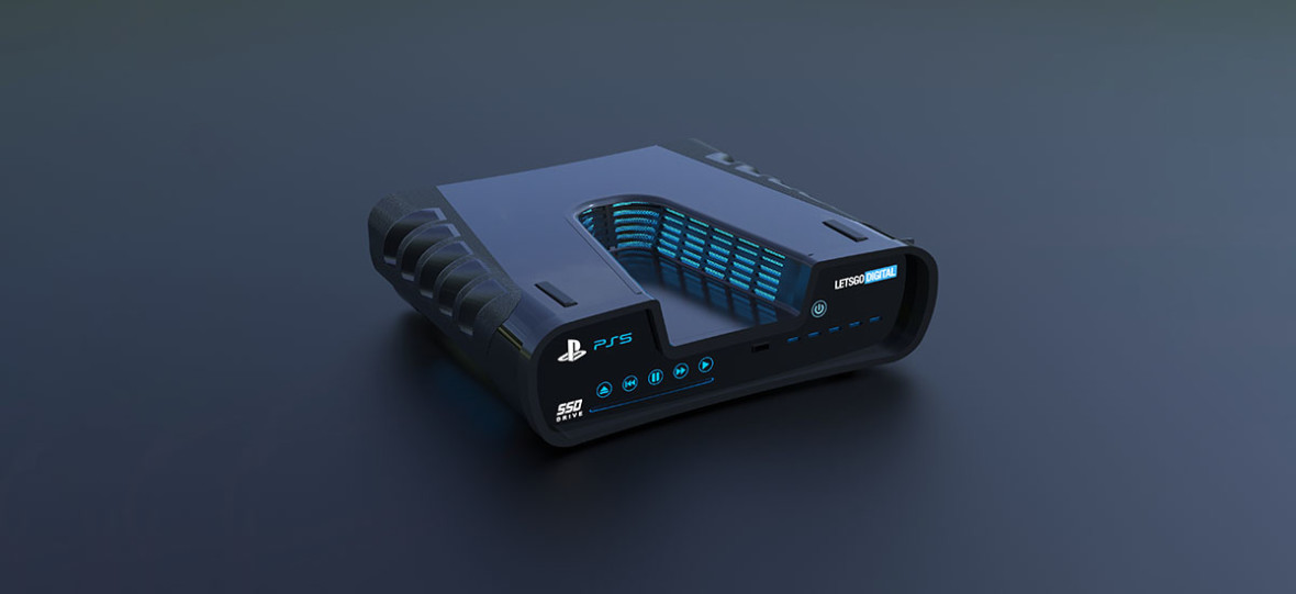 Tak może wyglądać PlayStation 5 – szkice patentowe przerobiono na realistyczne rendery