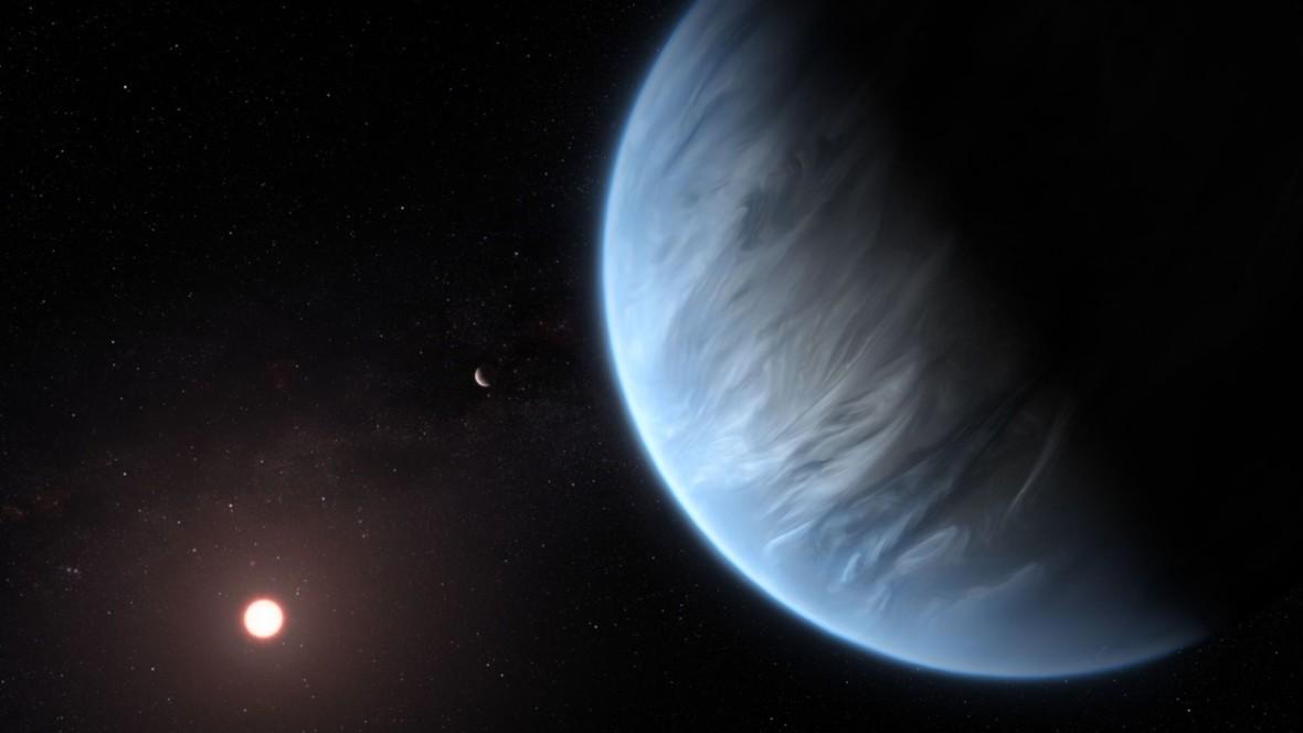 Deszcz pada też na innych planetach. Poznajcie K2-18b