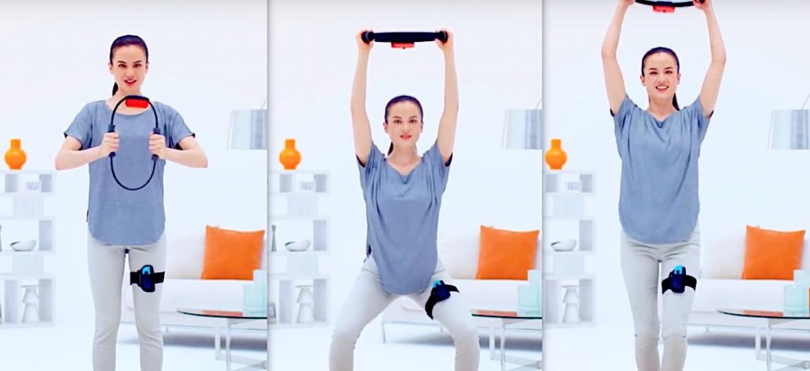 Może zrzucę parę kilo. RingFit Adventures to przemyślany gadżet fitness dla konsoli Nintendo Switch
