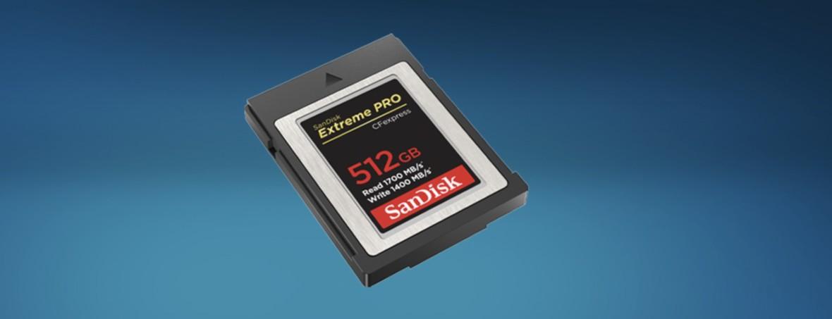 Oto najszybsze karty pamięci w historii. Kosztują fortunę, a nie ma nawet aparatu, który je obsługuje