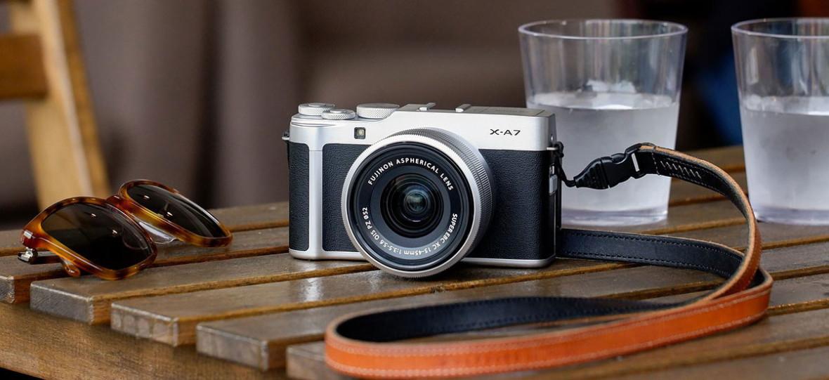 Oto Fujifilm X-A7. Tani i nowoczesny aparat dla współczesnego twórcy