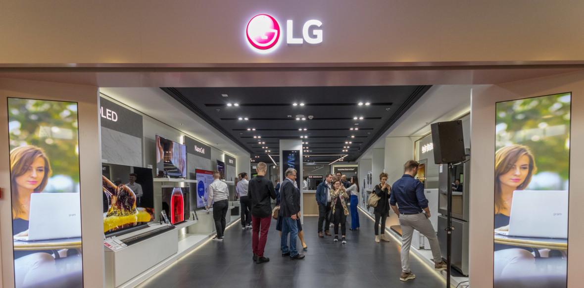 W Polsce właśnie otwarto pierwszy w Europie LG Brand Store. Tak wygląda w środku