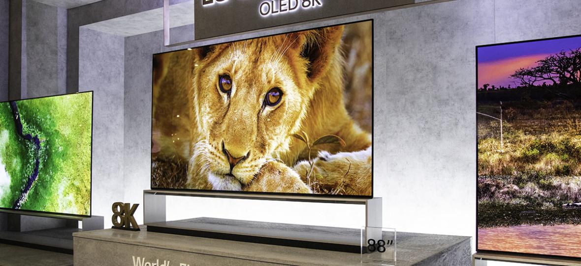 """Pierwsze """"prawdziwe telewizory 8K"""" dopiero w przyszłym roku. Zadebiutują w ofercie LG"""