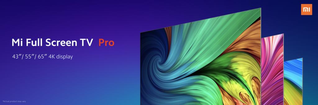 Xiaomi mi full screen tv pro
