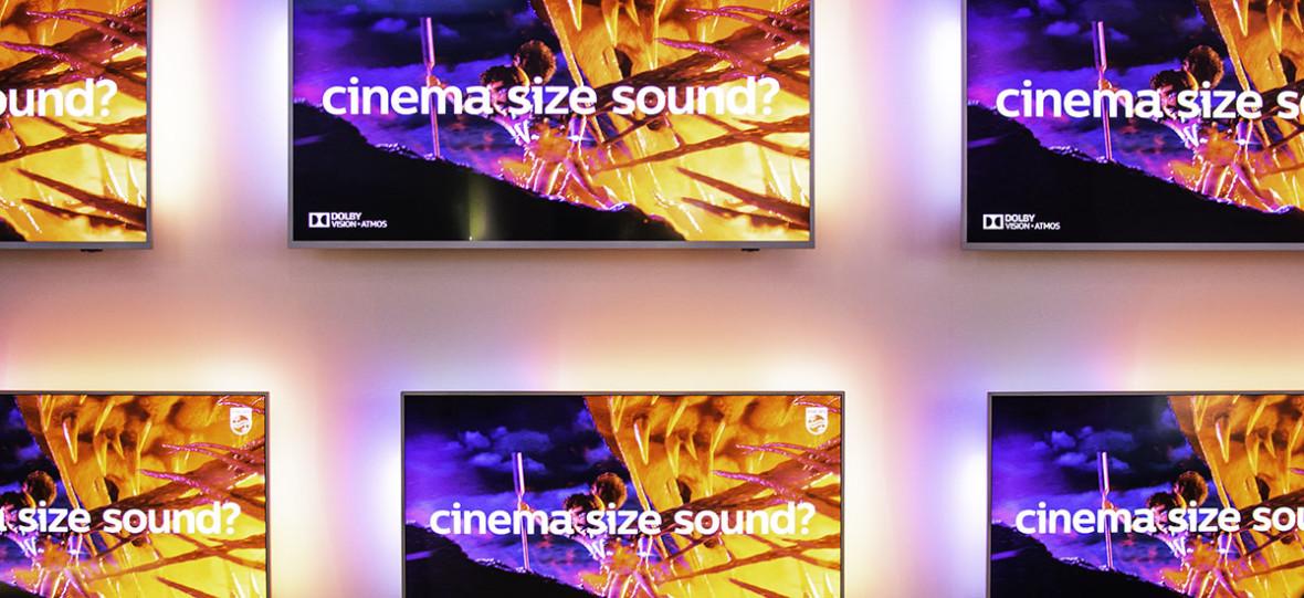Były światełka i jakość obrazu, teraz czas na dźwięk. Philips zaprezentował imponujące telewizory OLED+